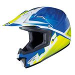 HJC CL-XY 2 Ellusion - Blue | Childrens MX Helmet | Two Wheel Centre