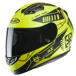 HJC CS-15 Tarex Motorcycle Helmet - Yellow | HJC CS-15 Helmet | Two Wheel Centre