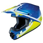 HJC CS-MX 2 Ellusion Blue / Fluo / White | Off Road and MX Helmets | Two Wheel Centre