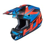 HJC CS-MX 2 Madax - Black / Blue | Off Road and MX Helmets | Two Wheel Centre