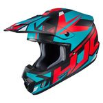HJC CS-MX 2 Madax - Red / White / Blue | Off Road and MX Helmets | Two Wheel Centre