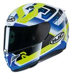 HJC RPHA 11 Nectus - Blue / Flo | HJC RPHA 11 Helmet | Two Wheel Centre