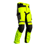RST Atlas Textile Trousers - Flo Yellow / Black / Grey