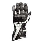 RST Axis CE Leather Gloves - Black / Grey / White