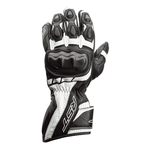 RST Axis CE Leather Gloves - Black / White
