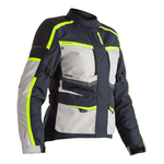 RST Maverick Ladies Textile Jacket - Blue / Silver / Neon