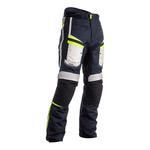 RST Maverick Textile Trousers - Blue / Silver / Neon