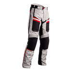 RST Maverick Textile Trousers - Silver / Black / Red