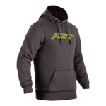 RST Reinforced CE Pullover Hoodie - Grey / Lime