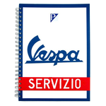 Vespa paper pad note books