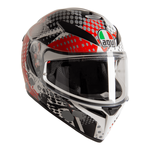 AGV K3 SV S Pop - Matt Black / Red / Grey | AGV Helmets available from Two Wheel Centre