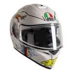 AGV K3 SV S White Zoo | AGV Helmets available from Two Wheel Centre