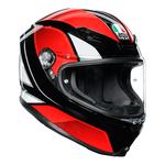 AGV Helmets - AGV K6 Hyphen - Black Red White