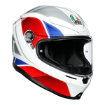 AGV Helmets - AGV K6 Hyphen - White Red Blue