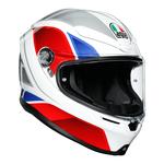 AGV Helmets - AGV K6 Hyphen - White Red Blue