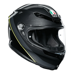 AGV Helmets - AGV K6 Minimal - Gun Metal Black Flo Yellow