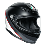 AGV Helmets - AGV K6 Minimal - Black White Red