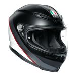 AGV Helmets - AGV K6 Minimal - Black White Red
