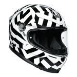 AGV Helmets - AGV K6 Secret - Black White