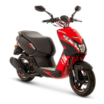 Peugeot Streetzone 50cc - 'Flat 6' Red | Two Wheel Centre | Peugeot Scooter Dealers, Mansfield, Notts, UK