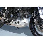 Suzuki V-Strom 1000 ABS Aluminium Skid Plate - Brushed Silver