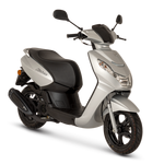 Peugeot Kisbee 50cc - Satin Silver - Two Wheel Centre | Peugeot Scooter Dealers, Mansfield, Notts, UK