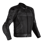 RST Tractech Evo 4 Mesh Leather Jacket - Black
