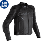 RST Sabre CE Airbag Leather Jacket - Black