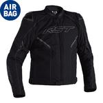 RST Sabre CE Airbag Textile Jacket - Black
