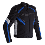 RST Sabre CE Textile Jacket - Black/White/Blue