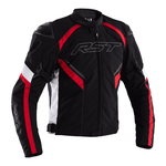 RST Sabre CE Textile Jacket - Black/White/Red