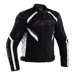 RST Sabre CE Textile Jacket - Black/White