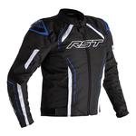 RST S-1 CE Textile Jacket - Black/White/Blue