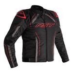 RST S-1 CE Textile Jacket - Black/Grey/Red