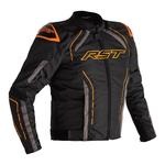 RST S-1 CE Textile Jacket - Black/Grey/Neon Orange