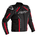 RST S-1 CE Textile Jacket - Black/White/Red