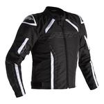 RST S-1 CE Textile Jacket - Black/White