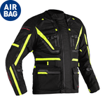 RST Pro Series Paragon 6 CE Airbag Textile Jacket - Black/Flo Yellow