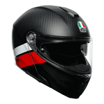 AGV Sport Modular - Layer - Carbon / Red / White