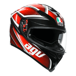 AGV K5-S Tempest - Black/Red | AGV K5-S Collection | Free UK Delivery