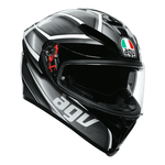 AGV K5-S Tempest - Black/Silver | AGV K5-S Collection | Free UK Delivery