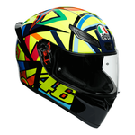 AGV K1 - Rossi Soleluna 2017   AGV K1 Helmet Collection   Free UK Delivery