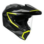 AGV AX9 - Siberia - Matt Black / Flo Yellow