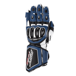 RST Tractech Evo 4 CE Leather Gloves - Blue