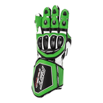 RST Tractech Evo 4 CE Leather Gloves - Green