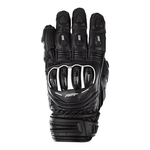RST Tractech Evo 4 CE Short Leather Gloves - Black