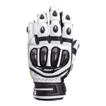RST Tractech Evo 4 CE Short Leather Gloves - White