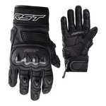 RST Freestyle 2 CE Leather Motorcycle Gloves - Black