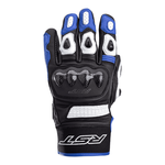 RST Freestyle 2 CE Leather Motorcycle Gloves - Blue