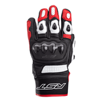 RST Freestyle 2 CE Leather Motorcycle Gloves - Red